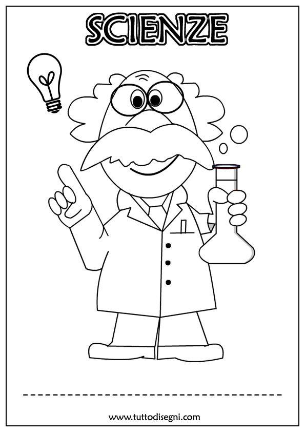 Copertine scienze da colorare copertine quadernoni scienza quaderni di scuola e fiera delle for Maestra gemma diritti dei bambini