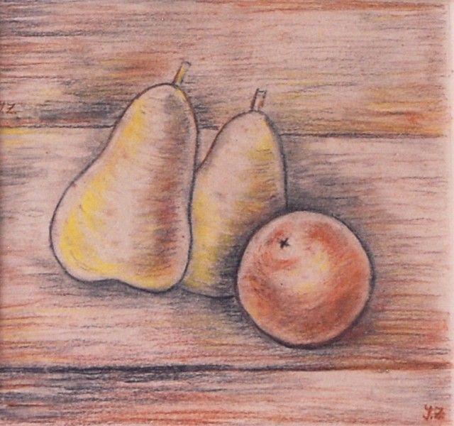 Zrzavý Jan (1890-1977)  Zátiší s hruškami a jablkem