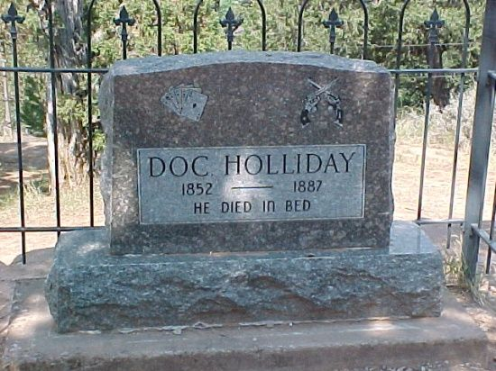 famous graves   Famous Graves / Doc Holiday