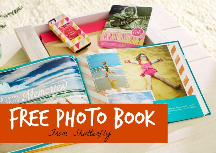 FREE Shutterfly 8X8 Photobook!