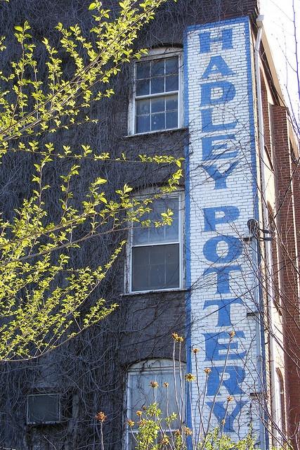 Mary Alice Hadley Pottery on  Story Avenue -   Louisville, Kentucky -   April 2009