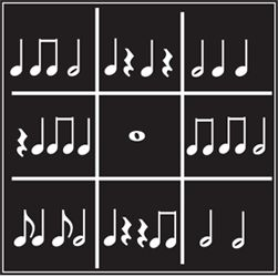 Music Games// oh I like this! You could play rhythm and make them figure out if they have bingo that way! Neato