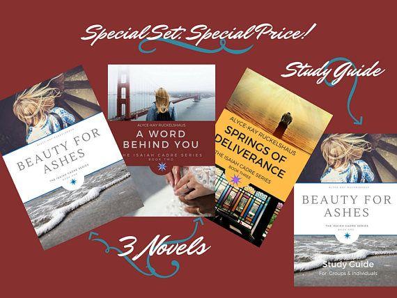 Christian Romance. Spiritual Growth. 4 Christian Books = 3 Christian Romance Novels + 1 Bible Study Guide. Spiritual Growth. Study Group!