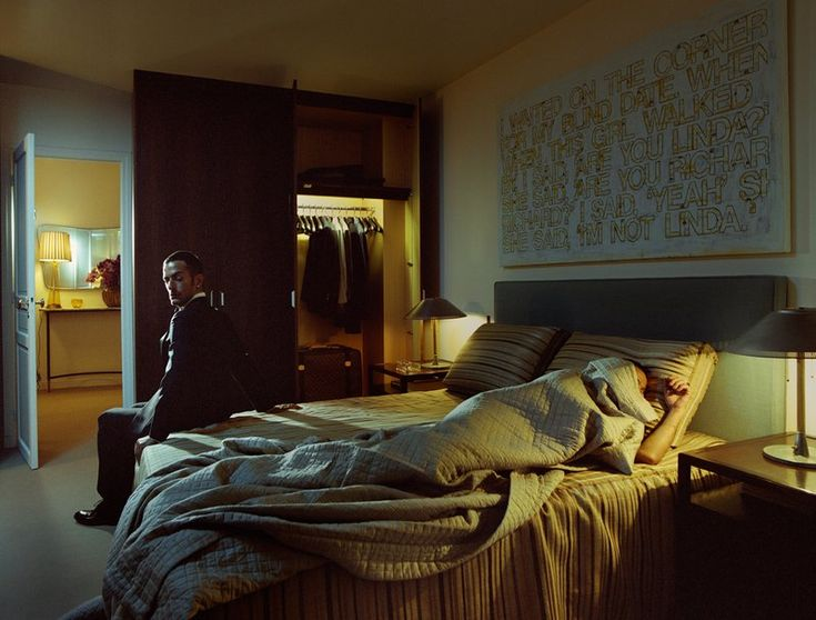 Philip-Lorca diCorcia, W, November 2007, #6 -- but check out the Richard Prince -- do a gay remake?