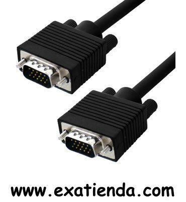 Ya disponible Cable vga 10m m/m   (por sólo 17.95 € IVA incluído):   -CONEX. VGA SUB-D 15 M/M HD 10 MTS -Blindado con el núcleo de ferrita en ambos extremos para la calidad máxima de la señal y evitar interferencias ocasionadas por otros equipos.  Garantía de fabricante  http://www.exabyteinformatica.com/tienda/3660-cable-vga-10m-m-m #audio #exabyteinformatica