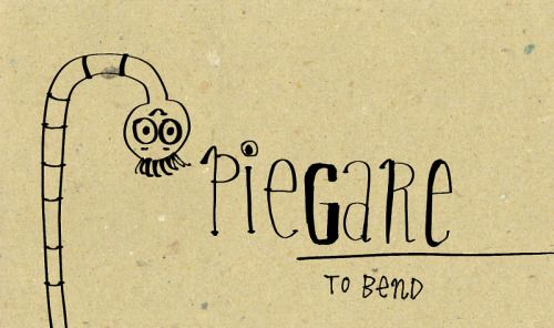 Piegare.   To bend