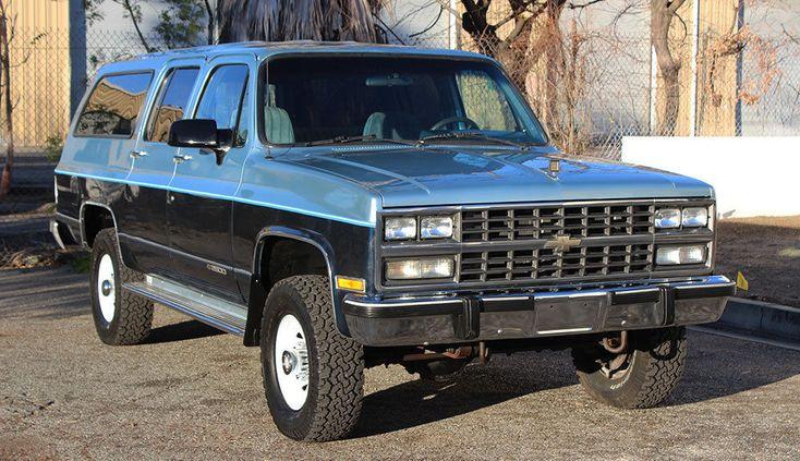 1991 Chevrolet Suburban Silverado 2500 4x4, One Owner, 3/4 ...