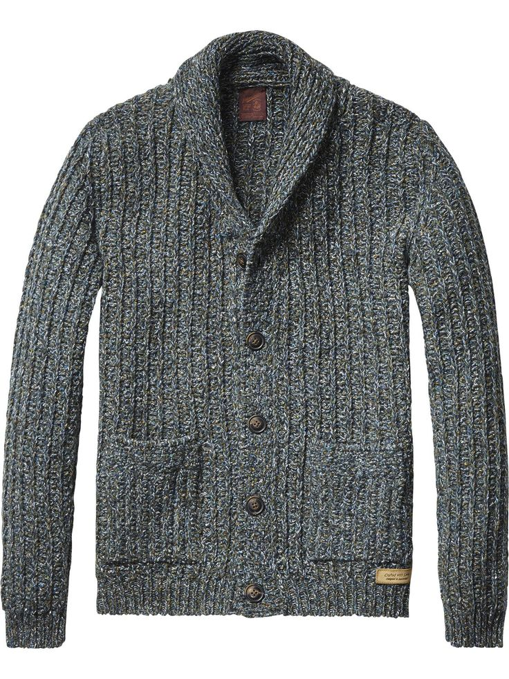 chunky knit cardigan pullover men 39 s clothing at scotch. Black Bedroom Furniture Sets. Home Design Ideas