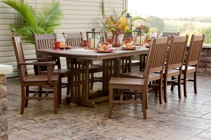 Would love to have this Outdoor Amish Furniture Table for my apartment!