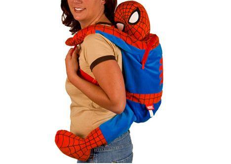 Spider-Man Plush Backpack