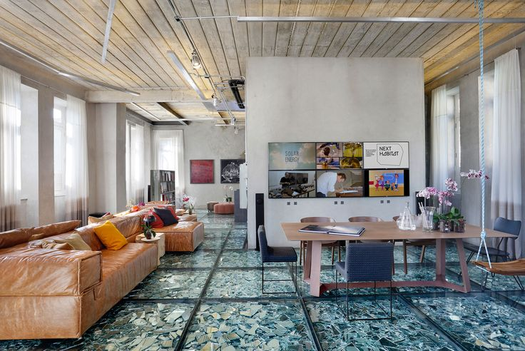 Stylish and Eclectic Design with Broken Glass Floor of Lab LZ for Casa Cor Rio 2015 by Giselle Taranto Architecture-10
