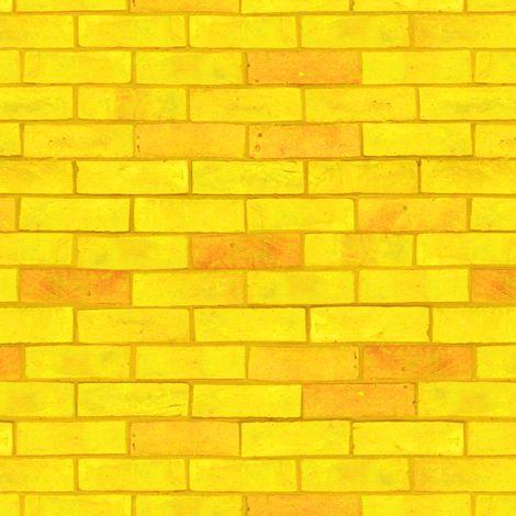 Wizard Of Oz Yellow Brick Road By Joyfulrose Fabric By