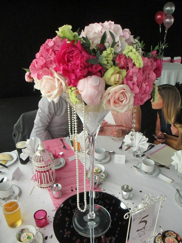Best martini glass wedding centerpiece images on
