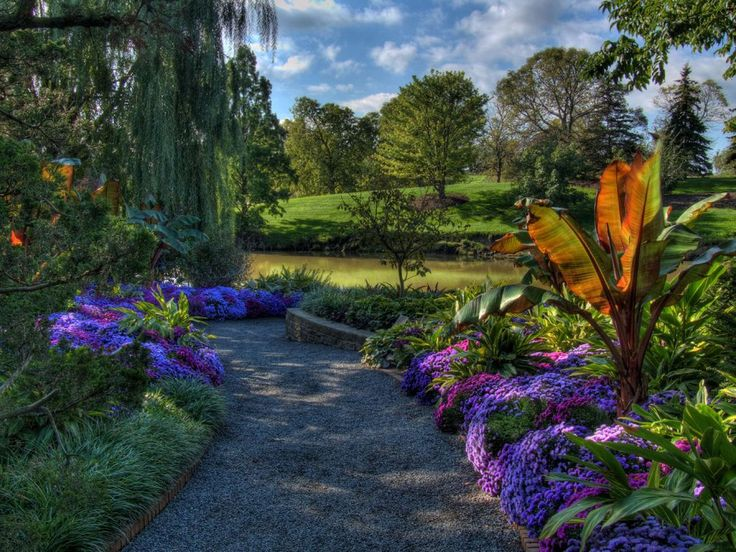 chicago botanical gardens bing images - Flower Garden Ideas Illinois