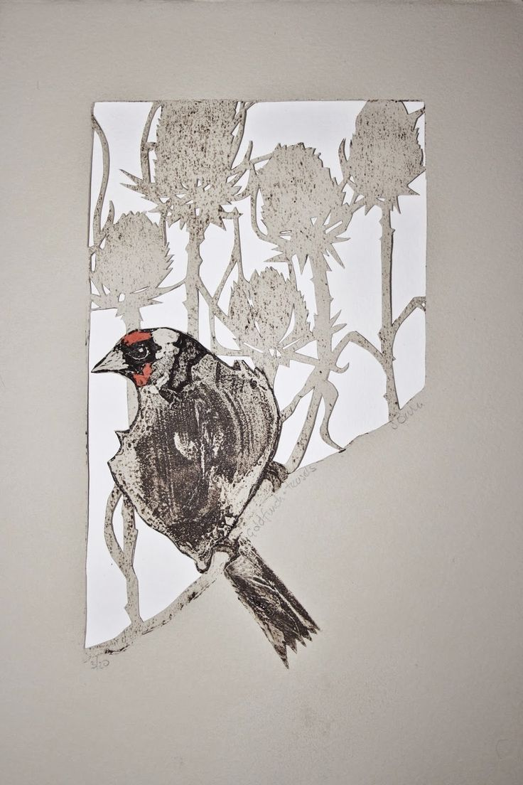 Sue Brown Printmaker cut outs
