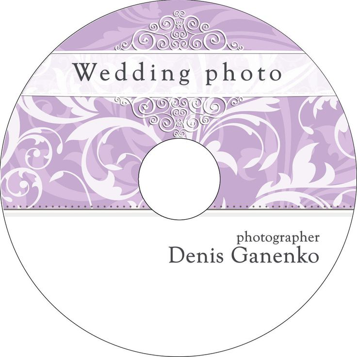 Wedding CD/DVD Label Template, vintage patterns, Wedding Label,  Instant Download, pattern, abstract by CameraClick on Etsy