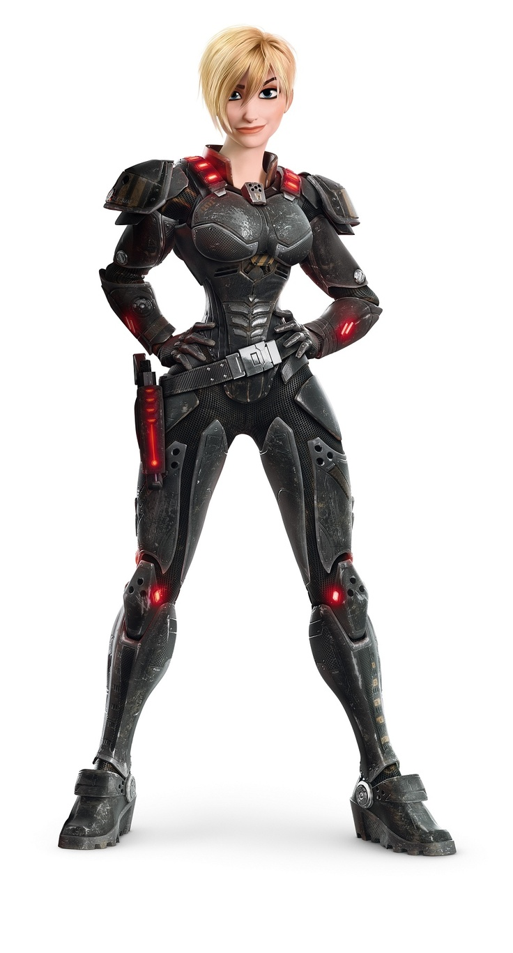 Sergeant Calhoun from Wreck it Ralph ~ future cosplay once I have taken my armour class next semester ^_^    I am thinking Corset and Vegtan