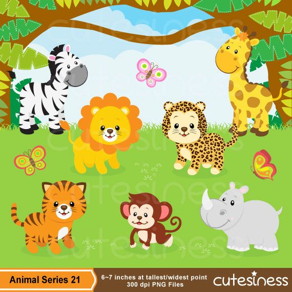 baby safari animals clip art wwwpixsharkcom images