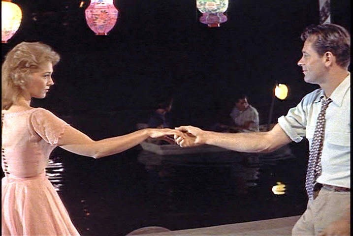 "William Holden in ""Picnic"". This dance to Moonglow is so sensual: Movie Picnic, William Holden, Cinema, Classics Movies, Favorite Movies, Picnics, Kim Novak, Film Favorites, Classic Movies"