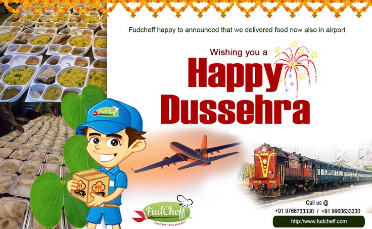 May this #Dussehra, light up for you. The #hopes of #Happy times, And #dreams for a #year full of #smiles! #Fudcheff Wishes you Happy Dussehra…..!