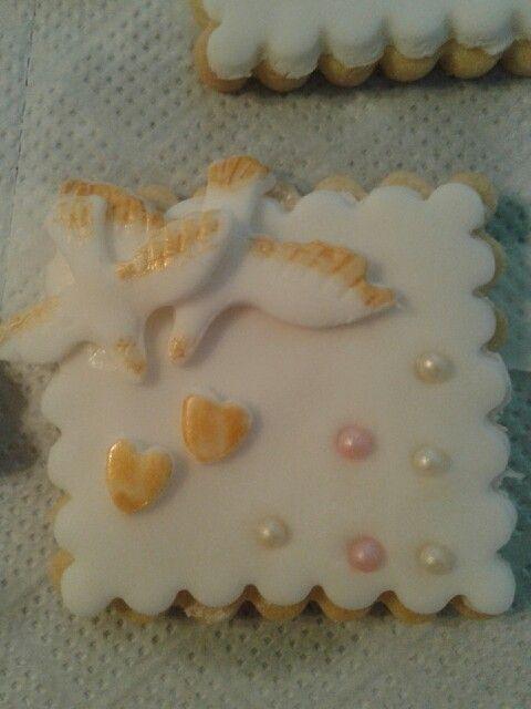Biscotto per un matrimonio!