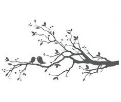 tree with birds clipart free | Love Birds On Branch X image - vector clip art online, royalty free ...
