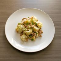 Bloemkool met tonijn in de oven : Koolhydraatarme recepten