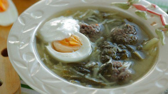 Картофельный суп с красной фасолью