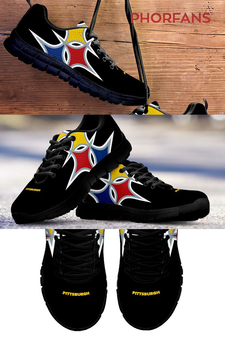 edf190c3 Pittsburgh Steeler Shoes | Steelers | Steelers gear, Football shoes ...