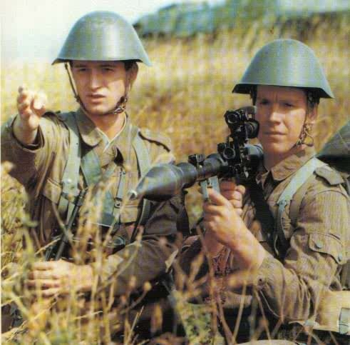 East German Anti-Tank Unit During Drills