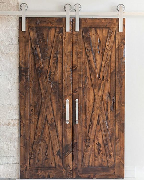 Best 25+ Barn Door Track System Ideas On Pinterest