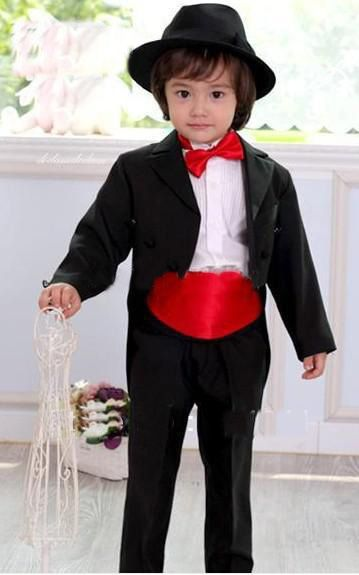 Top sell/Free shipping/ Kid Complete Designer Boy Wedding Suit/Boys' Attire Custom-made Boy's Attire One Button Groom Tuxedos //Price: $US $56.60 & FREE Shipping //     #bags