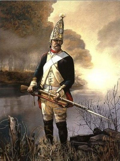 A Hessian soldier. | Colonial America | Pinterest ...