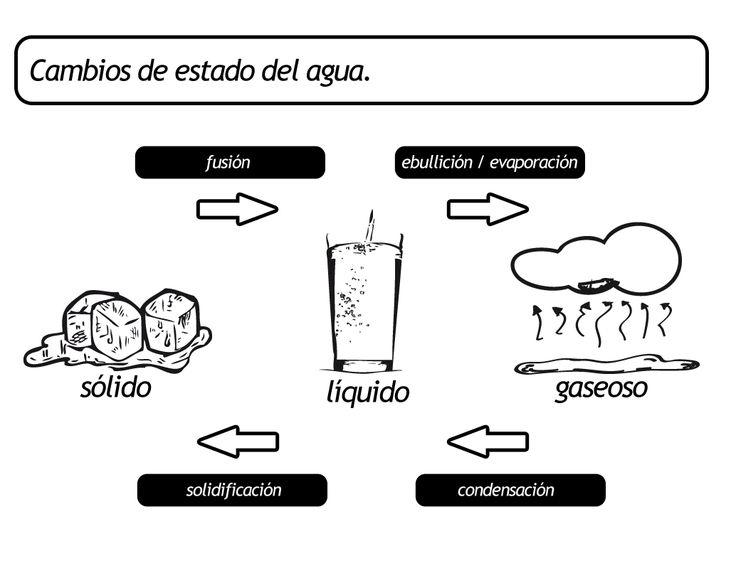 Menta Más Chocolate - RECURSOS y ACTIVIDADES PARA EDUCACIÓN INFANTIL: Los Estados del AGUA