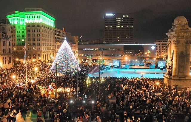 Christmas Tree Syracuse New York