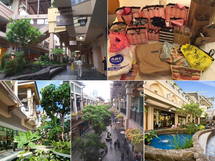 Ala Moana Shopping Centre - my favourite shopping!  http://www.thegirlswhowander.com/2017/04/08/highlights-of-oahu-hawaii/
