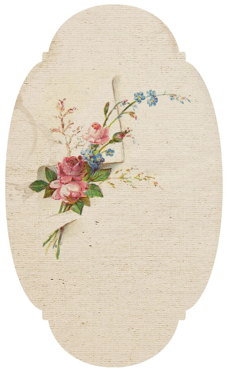 Free Vintage printable flowers