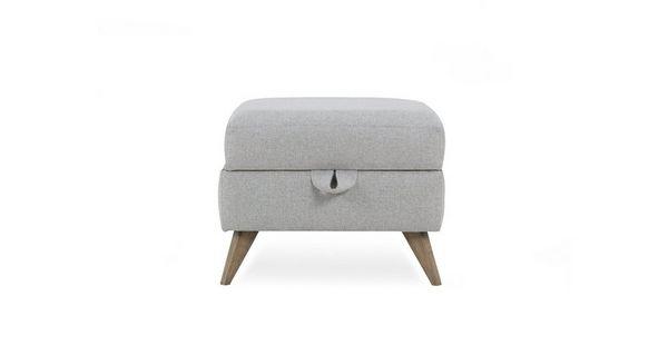 Lull Storage Footstool