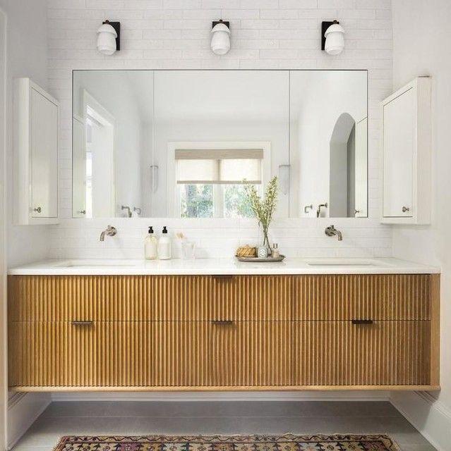 Whitman Small Sconce Floating Bathroom Vanities Bathroom Interior Design Master Bathroom Renovation