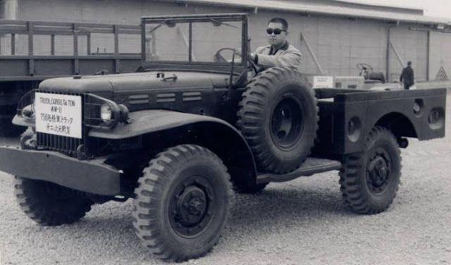"La Historia de la Camioneta Dodge ""Power Wagon"" ← Old Partners"