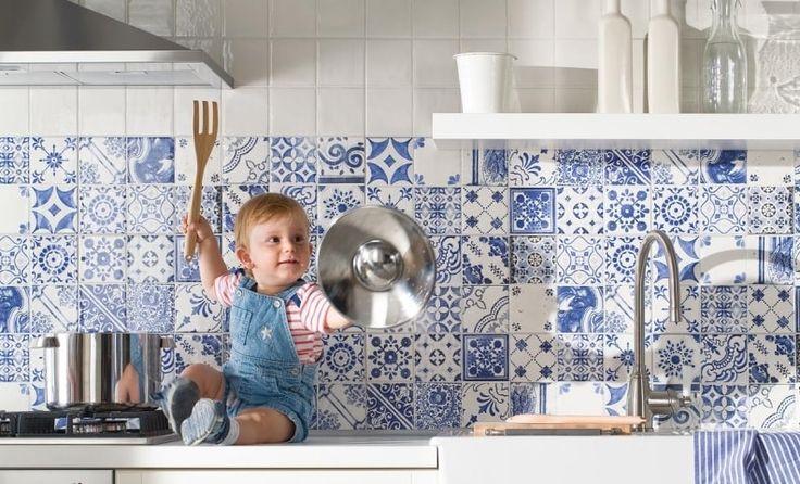 Keukentegels Met Afbeeldingen : 58 beste afbeeldingen over Keuken tegels op Pinterest