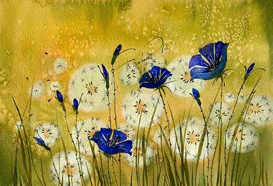 Синее на белом (Виктория Кирдий)