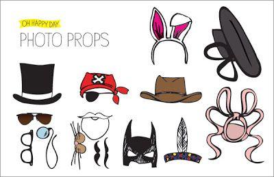 Gi det videre | Pay it forward: Gjør en photobooth photoshoot med props!