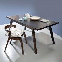mango wood table 180 x d 90 x h 75 moka by tikamoon