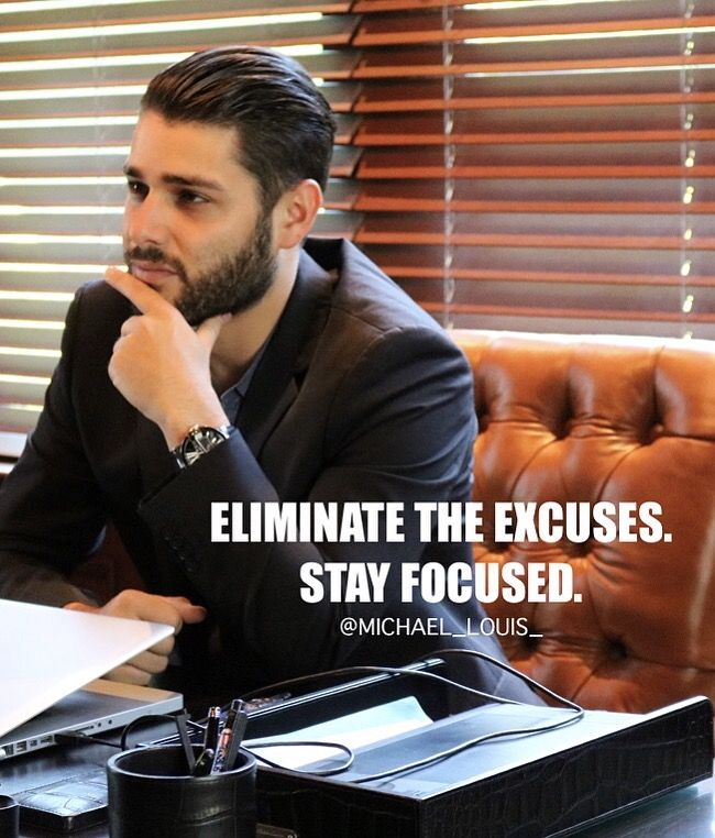 I don't let negative vibes or feelings affect me. I stay focused!  Eliminate negative thoughts right now and think only  positively, Are you with me?!  World Of Michael Louis | #MichaelLouis - www.MichaelLouis.com