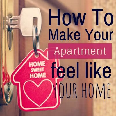 You're looking for a new #apartment, but how can you make sure it feels like #home? #tips