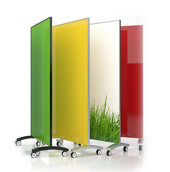 Mobile Glass Dry Erase Board These Mobile Boards Gang