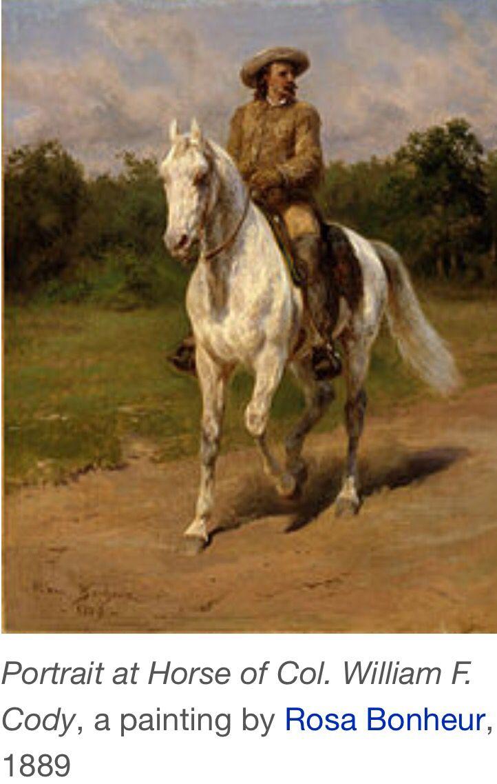 Festmenyek 3d ben 575 - Vintage Old Paper 1 Cowboy Western 1889 Colonel William F Cody Cody Wyoming
