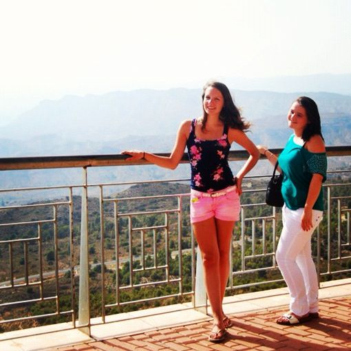 With niece - spain - 2012