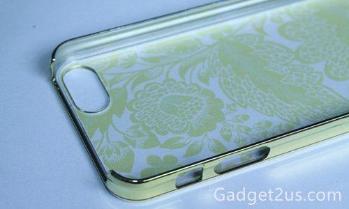 D TIPPECANOE FLORAL iPhon5s protector